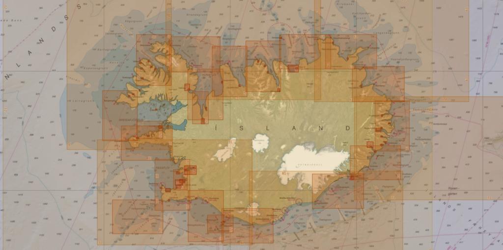 Iceland ICG-HD charts