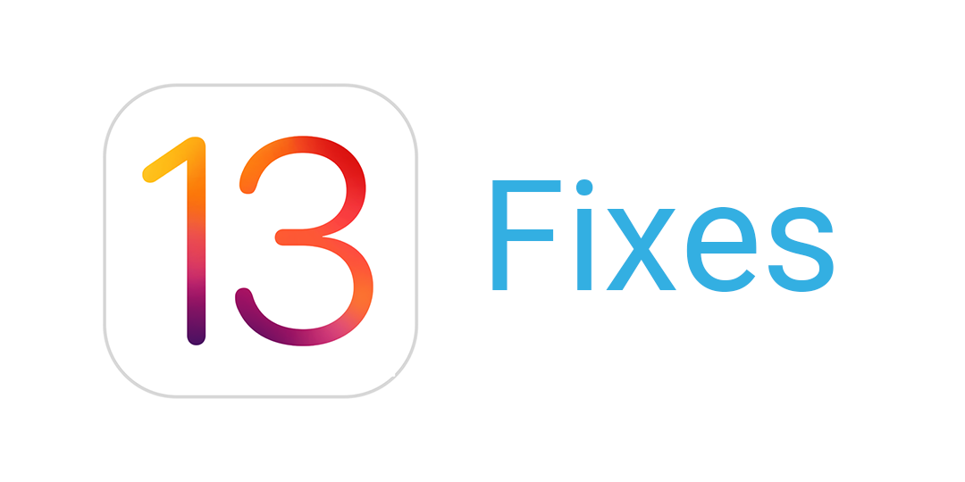 iOS 13 fixes released