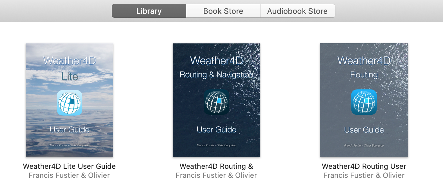Weather4D User Guides